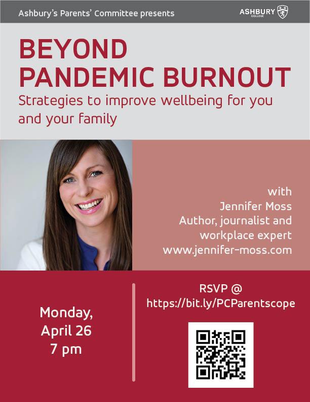 Beyond Pandemic Burnout presentation April 26